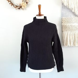 Madewell | Mockneck Side-Button Pullover Sweater